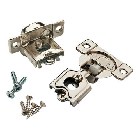 European Kitchen Cabinet Hinges by Liberty 35 Mm 105 Degree 1 2 In Overlay Soft Close Hinge
