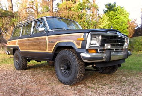 jeep grand modified modified 1990 jeep grand wagoneer for sale on bat auctions