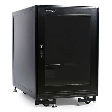 15u 19in server rack cabinet with fans enclosed server