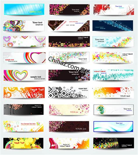 design banner free download cool trend banner design vector graph free download