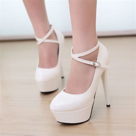 white stiletto high heels white heels cheap fs heel