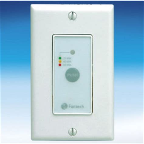 bathroom fans timers controls by fantech