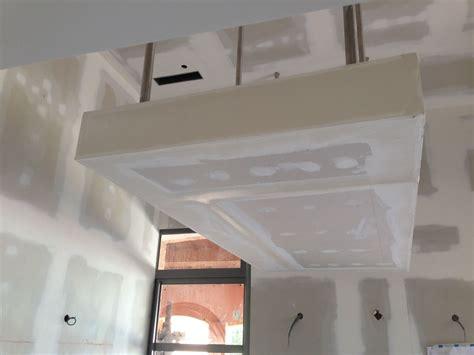 Plafond Avec Spot by Faux Plafond Sur Mesure Moderne Design En Casquette Avec