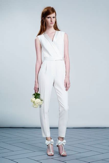 Viktor Rolf Preview Wedding Themed Collection For Hm by Follow Suit 5 Bridal Pantsuits For 2014 Weddings