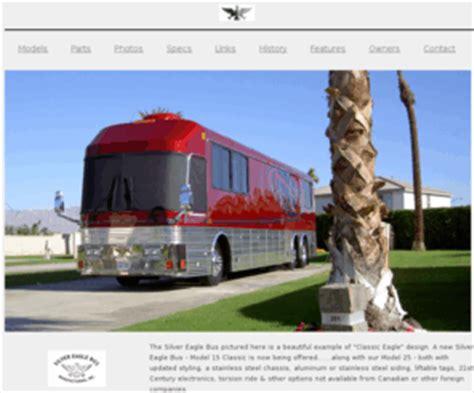 silvereaglebuscom silver eagle bus mfg