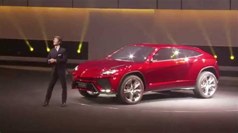 supercar suv lamborghini urus the supercar suv unveil