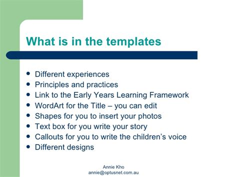 early years learning framework planning templates learning stories