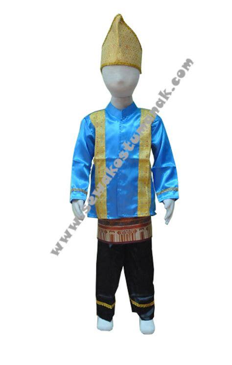 Baju Adat Aceh Anak Size Tk pakaian adat aceh baju adat aceh sewa kostum anak jakarta