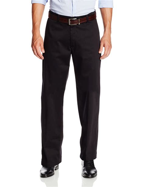 lee comfort waist pants lee men s comfort waist custom relaxed fit flat front pant