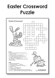 printable easter logic puzzles free printable easter crossword pdf easter printables