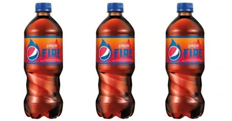Pepsi Fire Sweepstakes - new pepsi fire 20oz bottles only 0 50 each at walmart
