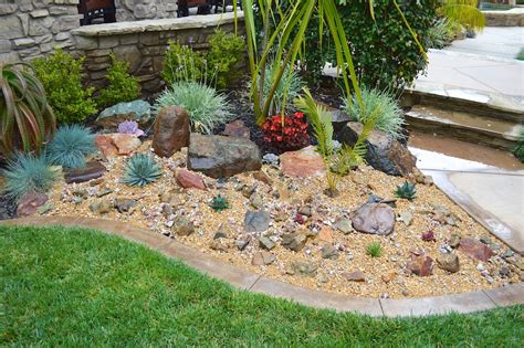 Rock For Garden My Weekend Project A New Rock Garden