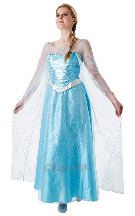 Dress Frozen sale disney frozen princess elsa fancy dress costume