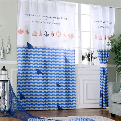 Shark Bedroom Curtains Shark Bedroom Curtains Blue Seaworld And Sharks Curtains Blue Underwater Themed Bedroom