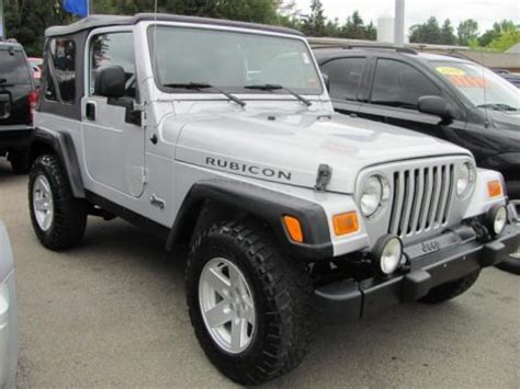 2006 Jeep Wrangler Weight 2006 Jeep Wrangler Rubicon 4x4 Data Info And Specs