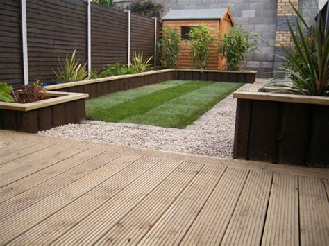 Decking Ideas Small Gardens Glasnevin Decking Project Gardenviews Ie
