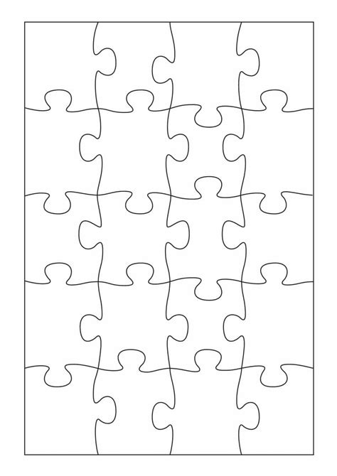puzzle template 19 printable puzzle templates ᐅ template lab