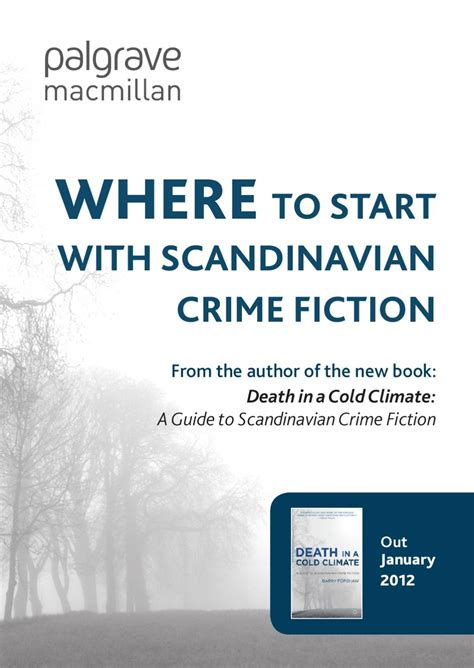 where to start with scandinavian crime fiction by palgrave