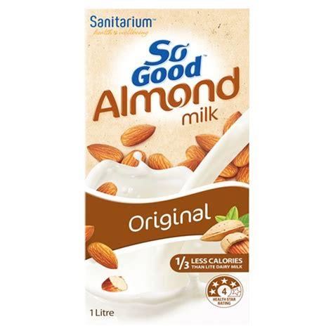 Almond Milk 1l buy sanitarium so almond milk 1l at countdown