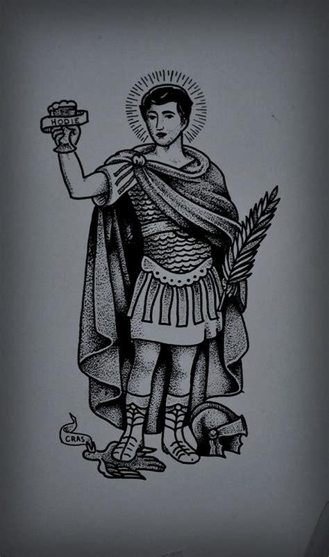 tattoo santo expedito on behance