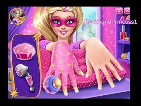barbie design magazine game barbie nail games nail designs games youtube