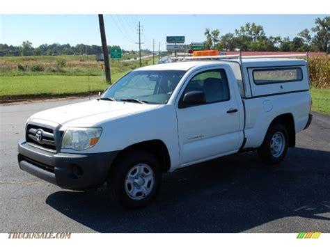 2007 Toyota Tacoma Cab 2007 Toyota Tacoma Regular Cab In White 345543