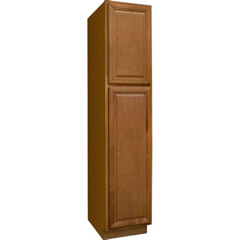 Hton Bay Cambria Assembled 18 X 84 X 24 In Pantry 24 Kitchen Cabinet