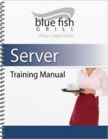 customer service manual template restaurant manual templates