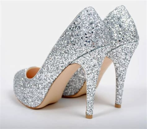 sparkly shoes how sparkly heels look great on wedding occasion
