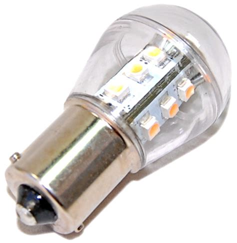 Led Light Bulb For Cars Hqrp Car Cool White Ba15s 1156 Boat Rv Car Auto 12v Smd Led Light Glass Bulb Ebay