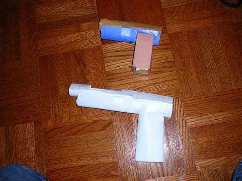 How To Make Paper Pistol - how to make undermig paper pistol gun