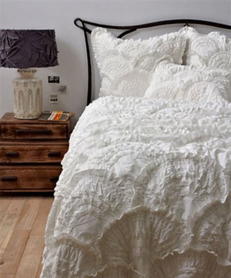 super pretty lace bed cover shabby chic pinterest
