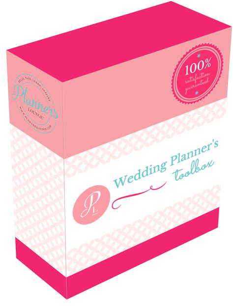 Wedding Tool Box by The Wedding Planner S Toolbox