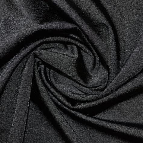 Material Black black lycra fabric lycra fabric fabric world