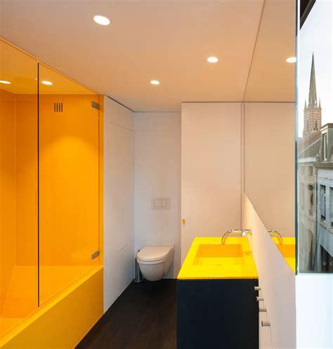 modern crisp lines  yellow interiors  color