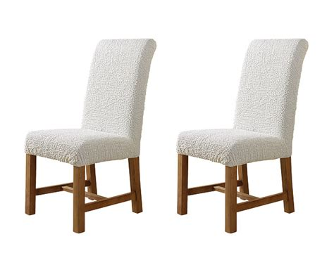 Dining Chair Covers To Buy Stretch Leather Dining Room Chair Cover 2 Set Bundle 187 Gallery Dining