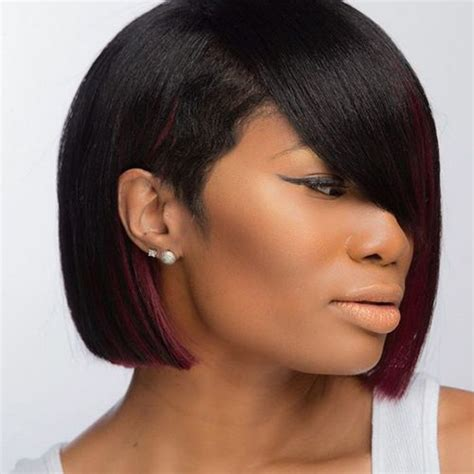 edgy bobs for african americans 22 best bob haircuts for black women images on pinterest