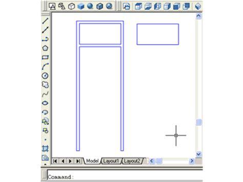 membuat ukuran pada gambar 3d autocad disain gambar 3d cara membuat kusen pintu di autocad