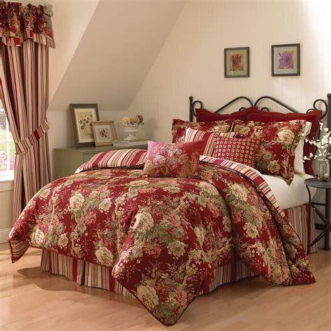 Waverly Ballad Bouquet 4 Piece Comforter Set At Hayneedle
