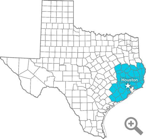 houston map location branch locations