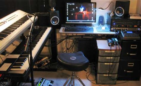 Home Recording Studio Voice Basic Home Recording Studio