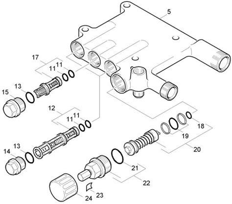 karcher spare parts diagrams karcher k720 m 1 842 120 0 pressure washer valves