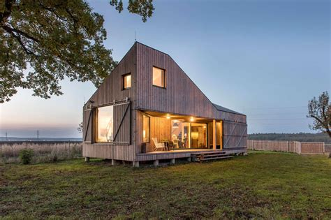 wooden house design low energy wooden house