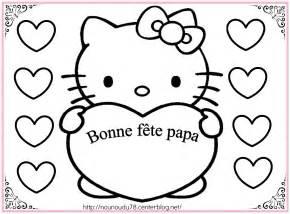 Coloriage Hello Kitty à colorier Dessin à imprimer
