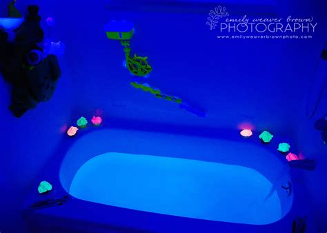 Black Light Bath Emily Weaver Brown Photography Blog