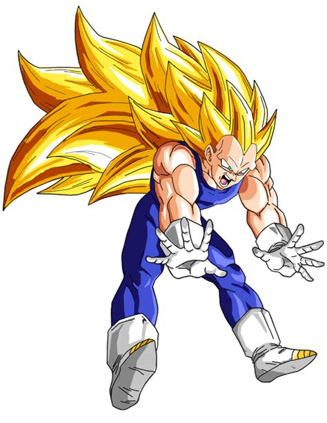 vegeta ssj3 by brusselthesaiyan on deviantart
