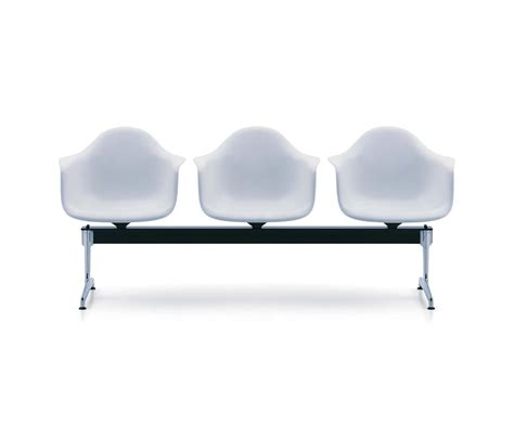 eames plastic chair  stretchers beam traverse seating  vitra architonic