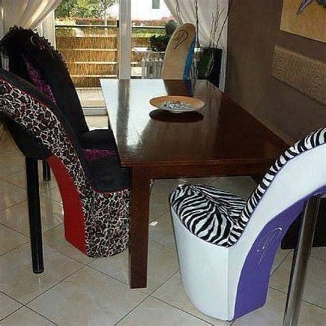 high heel chairs too cute furniture pinterest