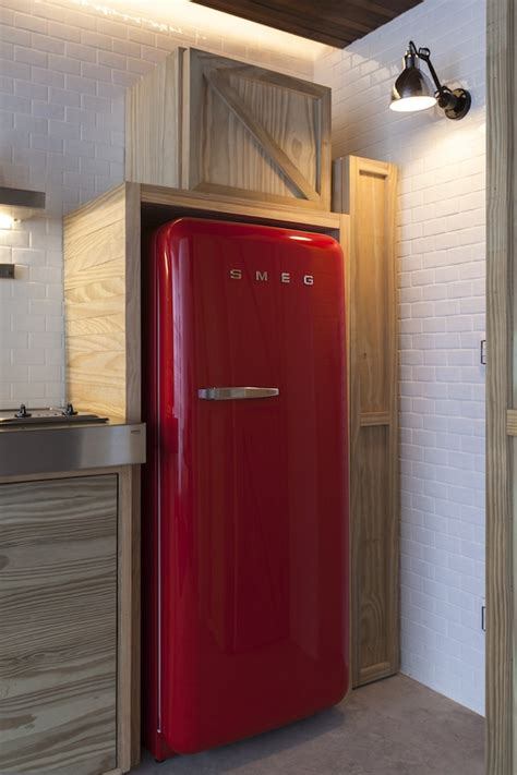 The Creator Of The Modern Fridge Turns 165 by Small Apartment In Sao Paulo Turned Into A Savvy Bachelor Pad