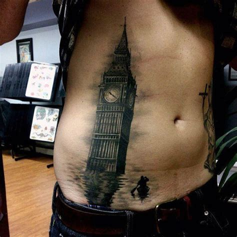 tattoos for men stomach 150 coolest stomach tattoos for
